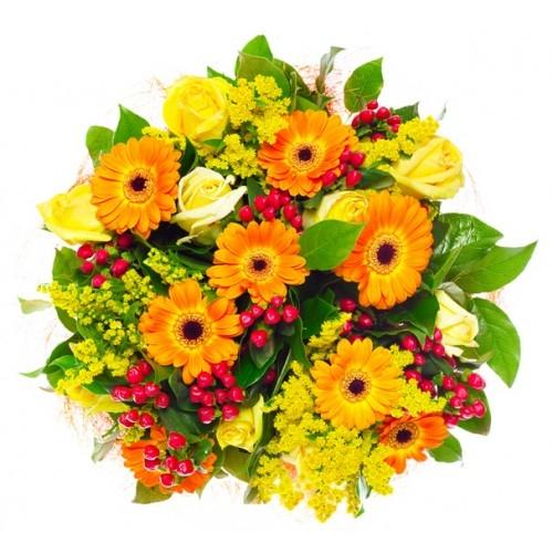 Con affetto (Mazzo con fiori di stagione)