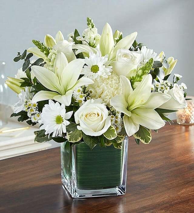 Per sempre Bianco (Rose Bianche, Gigli, Margherite)