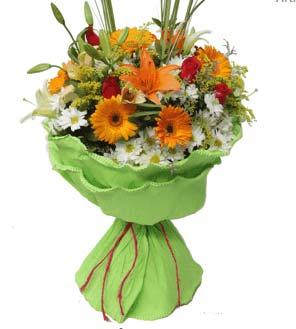 Sorriso Solare (Mazzo con fiori misti)