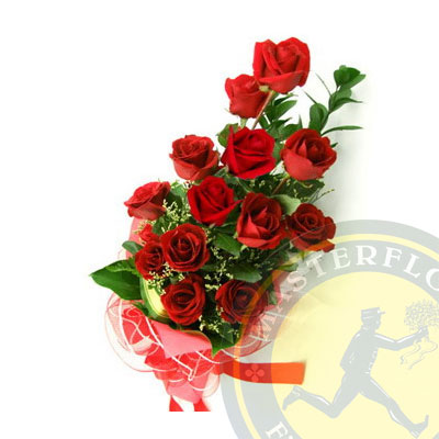 Folle Amore (Rose rosse a scalare)