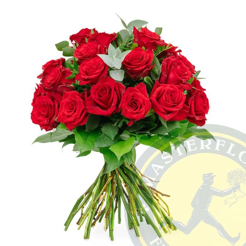 Bacio D'Amore (Bouquet di rose decorato)