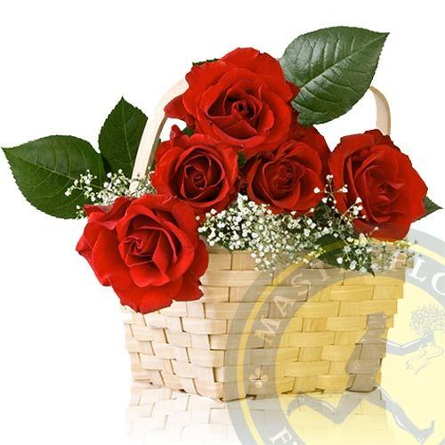 Amore mio (Composizione con rose rosse)